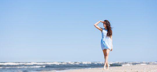 dziewczyna turcja plaża