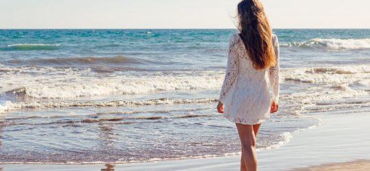 kobieta morze