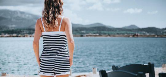 dziewczyna morze