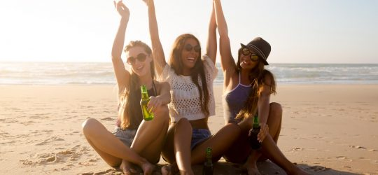 plaża dziewczyny