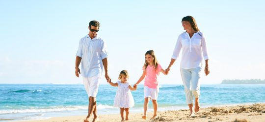 plaża-rodzina