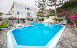 wypoczynek na Santorini