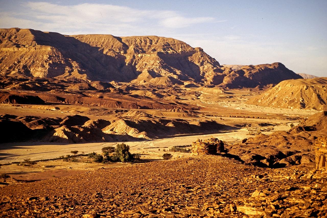 góra synaj egipt
