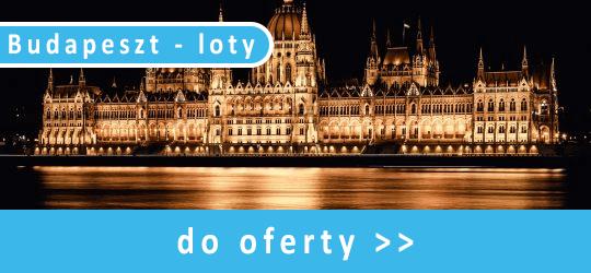 Budapeszt - loty