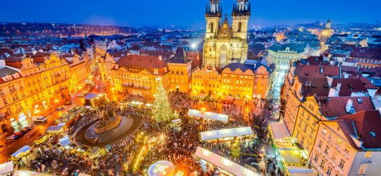 Jarmark Bożonarodzeniowy Praga