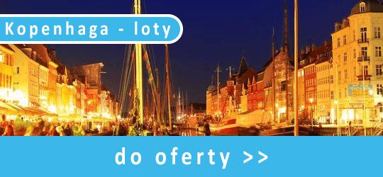 Kopenhaga - loty