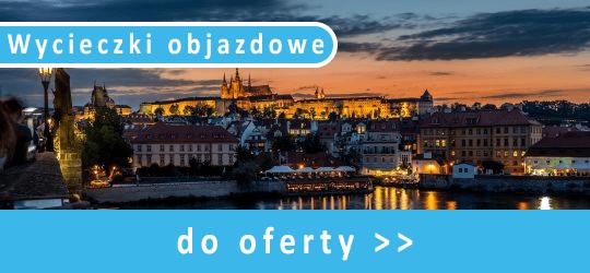 Wycieczki objazdowe - Praga