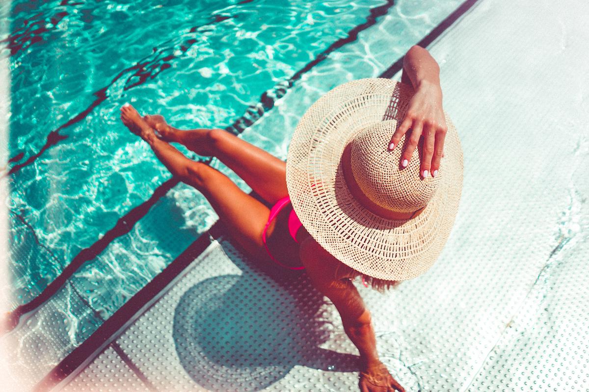 kobieta wakacje