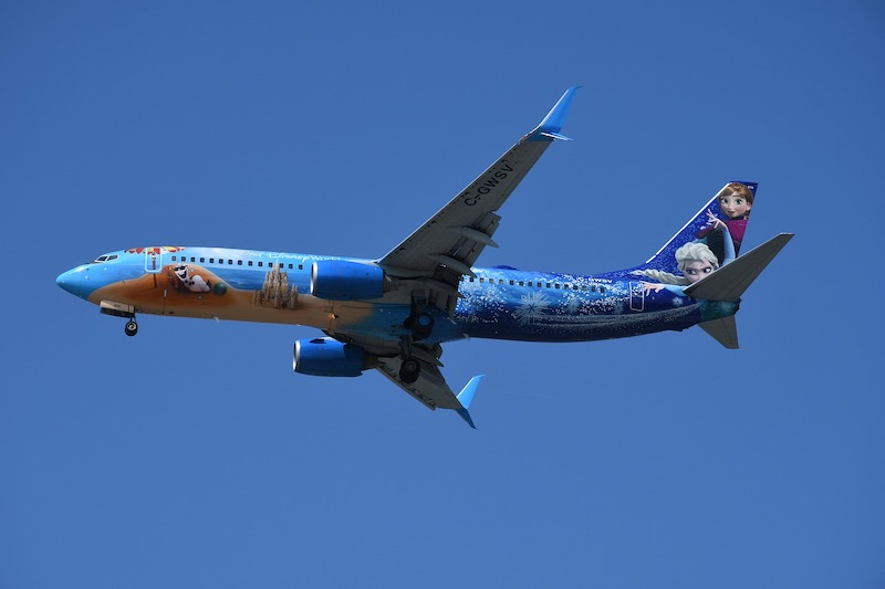kolorowy samolot