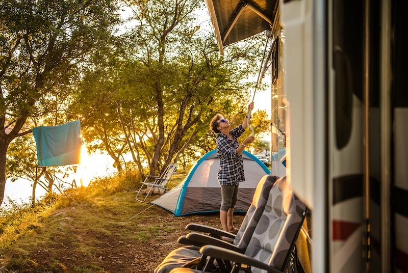 podróżowanie kamperem