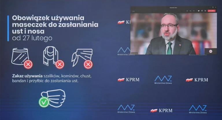Konferencja Adama Niedzielskiego - PAP:Radek Pietruszk