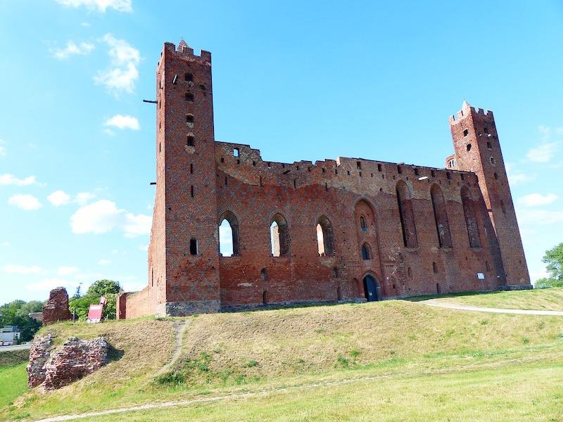 Zamek krzyżacki w Radzyniu Chełmińskim