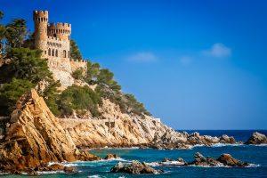 Lloret De Mar zamek