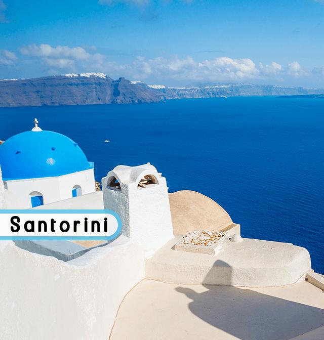 wakacje na Santorini